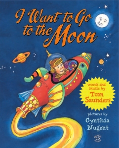 Cover of I want to go to the Moon