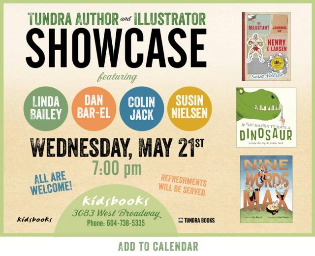 KidsBooks - Tundra Book Launch