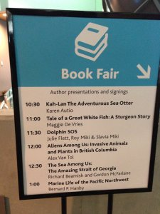 Book Fair Presentation Schedule