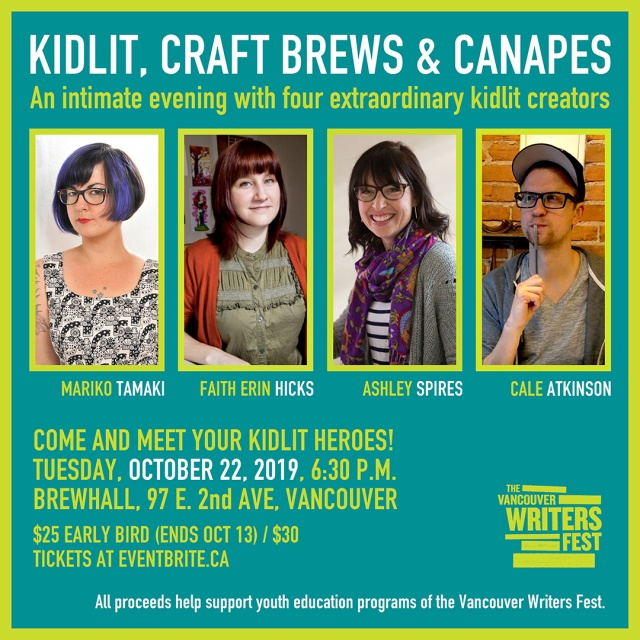 Kidlit Craft Brew and Canapes